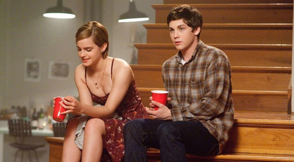 Logan with Emma Watson in The Perks of Being a Wildflower