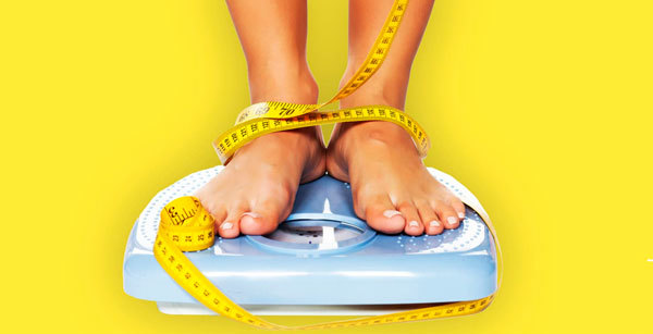 Stay off the scale and don't worry about the numbers.