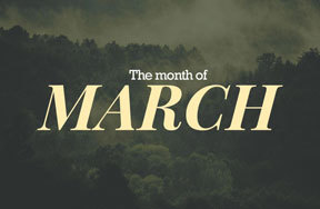 Preview the month march pre