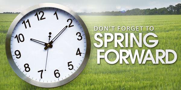 Spring Forward!