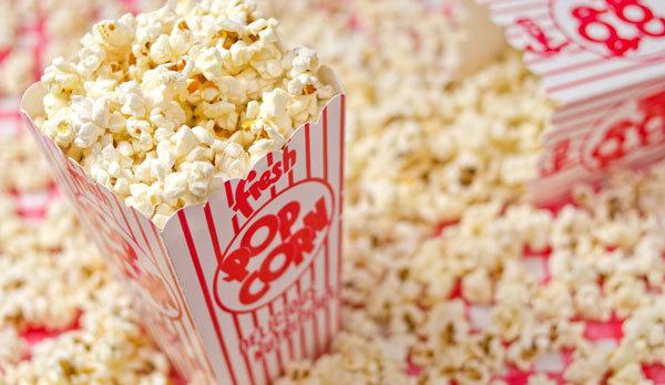 Invite friends over for a movie marathon!