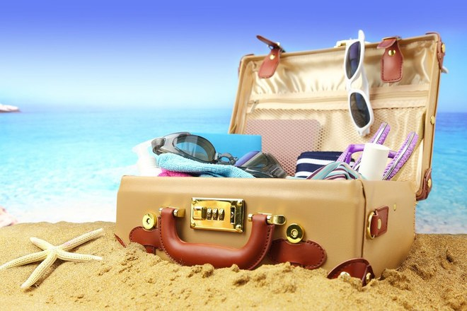 Pack the perfect suitcase for spring break