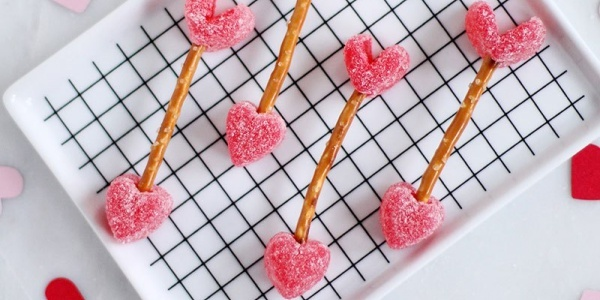 These cute treats can be sour or sweet, depending on how you really feel about Valentine's Day