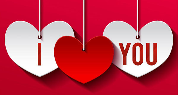 Valentine's is a great chance to say I love you.