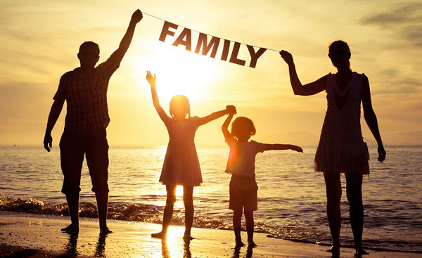 Try to work things out with your family they are very important.