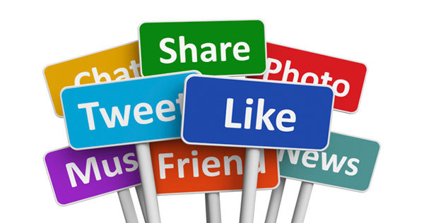 Social media makes it easy to communicate a message to potential customers.