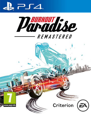 Burnout Paradise Remastered PS4 Box Art