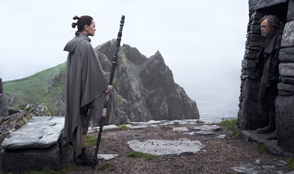 Rey challenges Luke