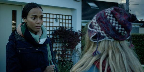 School Counselor (Zoe Saldana) questions Barbara