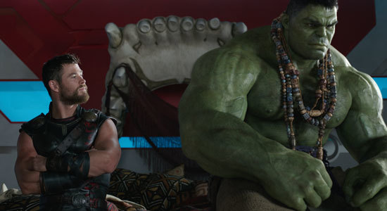 Thor and Hulk have a heart-to-heart talk