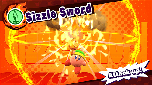 Combining powers will give you electric an electric yo-yo, frozen stones, or even the Sizzle Sword from above.