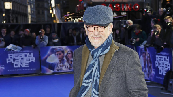 Steven Spielberg at the premiere