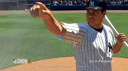 Playing as Babe Ruth is a great distraction from the meat of the game.