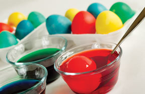 Preview how to make dyed easter eggs pre