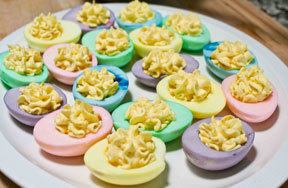 Kidzworld Kitchen: Easter Eggs Galore