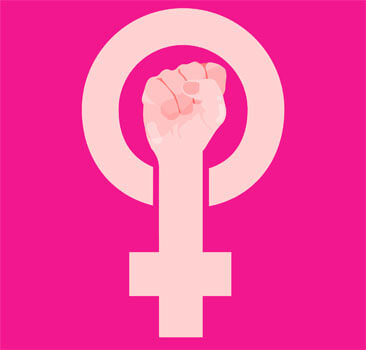 Women should never stop fighting for equality.
