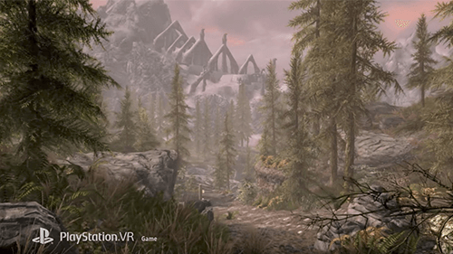 As beloved a game as Skyrim is, it's still ideal on a traditional platform rather than VR.