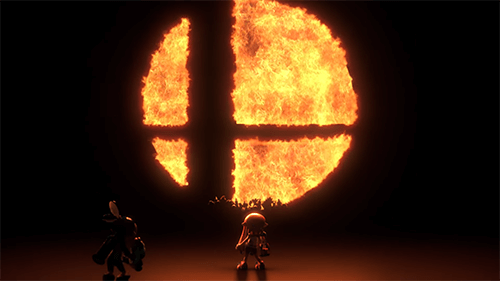 These shadowy figures are the only clue we have to the upcoming roster of Smash for Switch.