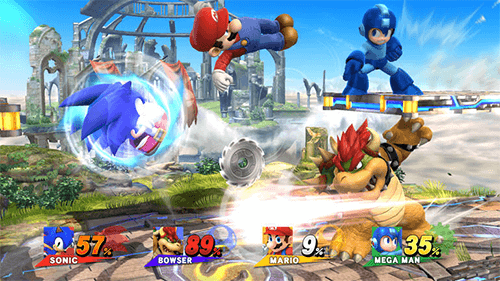 Smash on the Wii U took the game's visuals to new heights alongside a giant roster of characters.