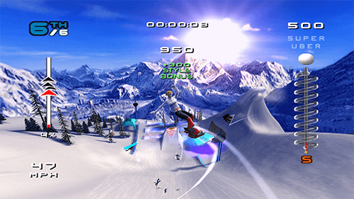 SSX 3 is lucky enough to get Xbox One X enhancements.