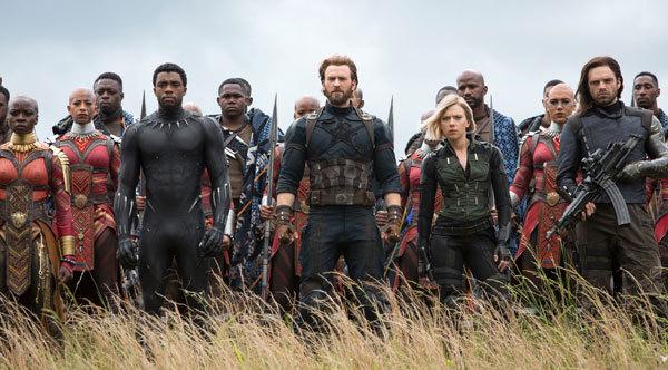 Avengers in Wakanda