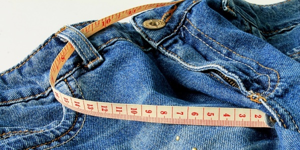 Use a sewing measuring tape to get the best measurement