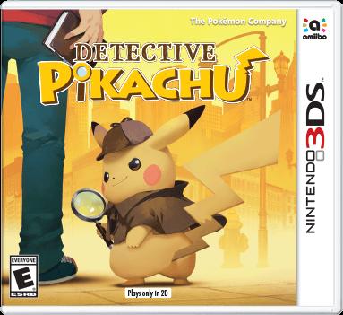 Detective Pikachu Box Art