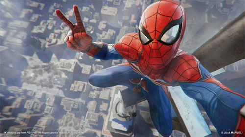 Though we don't know the specifics, Spider-Man on PS4 will have a photo mode in the game.