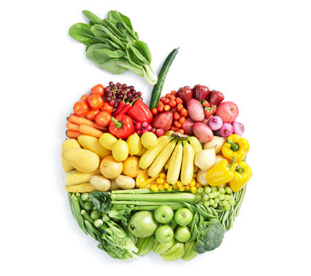 Eating lots of fruits and vegtables is good for you.