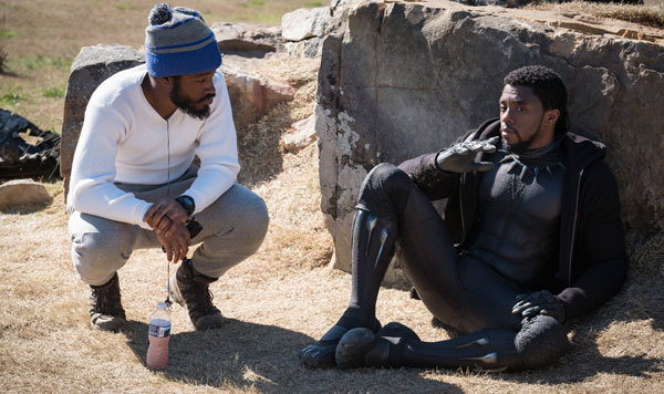 Ryan Coogler directing Chadwick Boseman