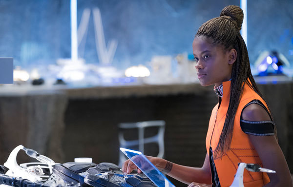 Shiri in her Wakandan lab