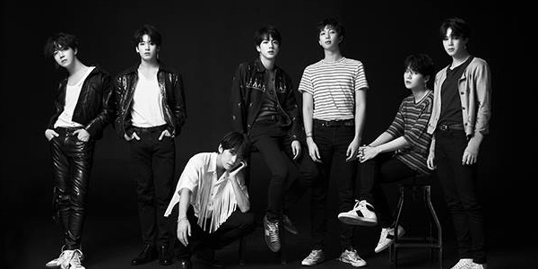 Promotional photos for the release of Love Yourself: Tear showcase each member's personal style