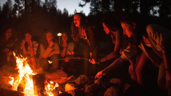 S'mores are a delicious campfire treat!