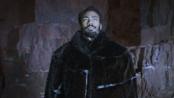 Lando in one of his many capes