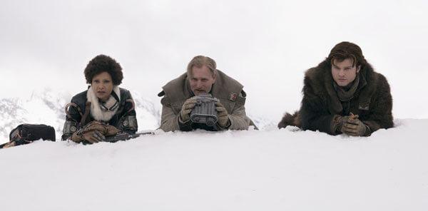 Val, Beckett and Han set up a heist