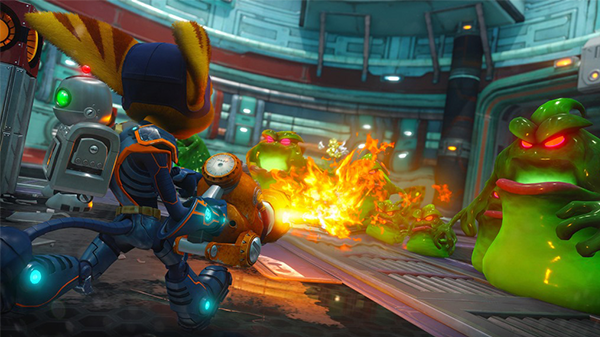 Ratchet and Clank finally achieved that Pixar-level of detail that gamers were hoping for.