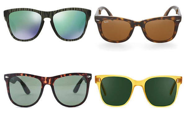 Pick a sunglass frame to flatter your face