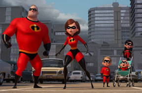 Preview the incredibles 2 pre
