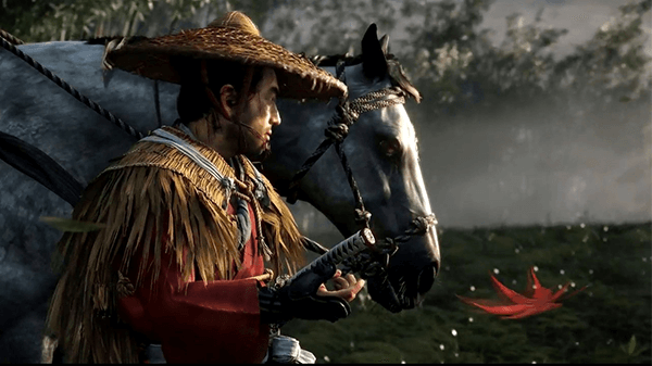 Like everything else, Ghost of Tsushima was a gorgeous looking game.