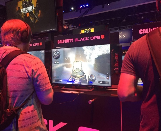 The latest Call of Duty Black Ops demo