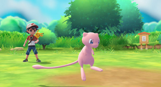Pokémon: Let's Go, Pikachu! And Pokémon: Let's Go, Evee! arrive in stores November 16, 2018