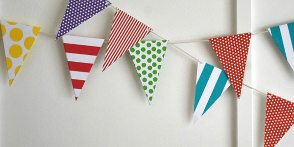 Do-it-Yourself Triangle Flags