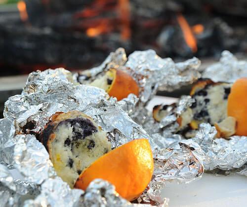 Campfire Orange Muffins