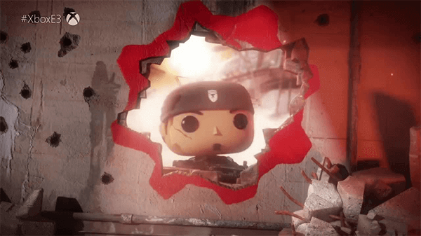 A Gears game centered around a Funko Pop aesthetic was definitely a surprise.