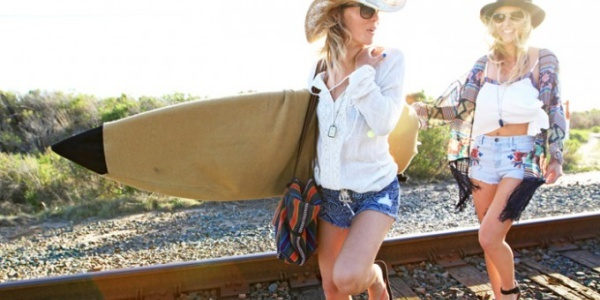 Bohemian beach style lets you go where the day takes you comfortably and stylishly.