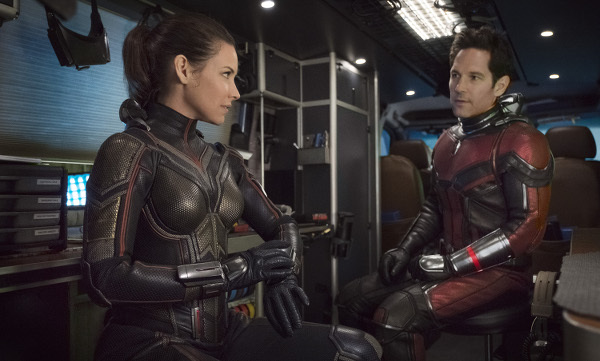 Wasp and Ant-Man suit up