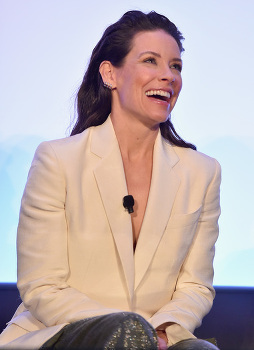 Evangeline Lilly at the interview