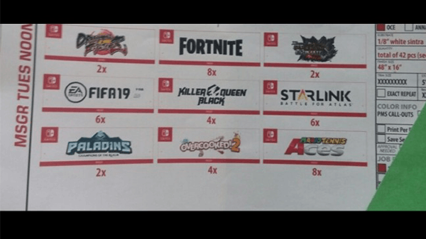 This blurry little image has caused a lot speculation for Nintendo's E3 showing.