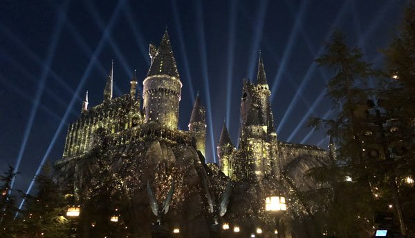 Hogwarts illuminated