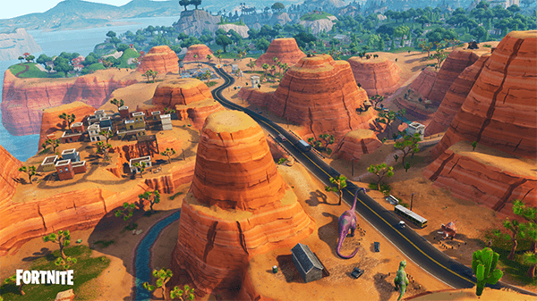 The gorgeous desert map adds some much needed vibrance to the map.